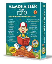 Learn to Read in Spanish with PIPO 2